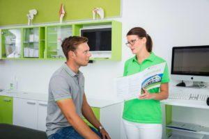 Behandlungszimmer Arthroskopie